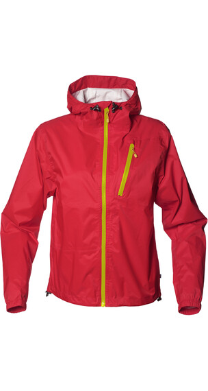 Isbjörn Juniors Light Weight Rain Jacket Sun Poppy